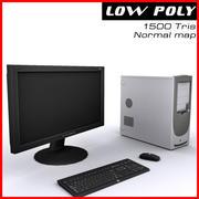 コンピューター 3d model