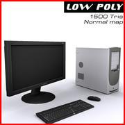компьютер 3d model