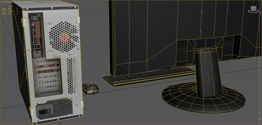 Computer royalty-free 3d model - Preview no. 11