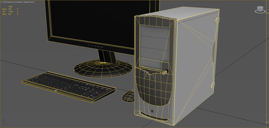 Computer royalty-free 3d model - Preview no. 10