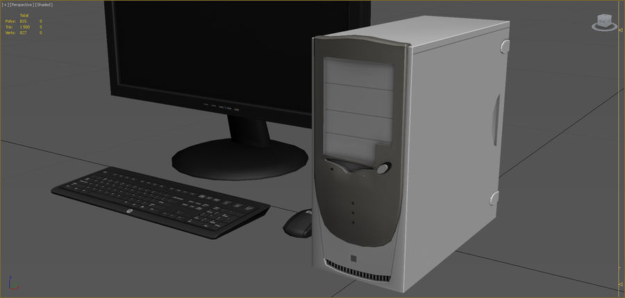 Computer royalty-free 3d model - Preview no. 9