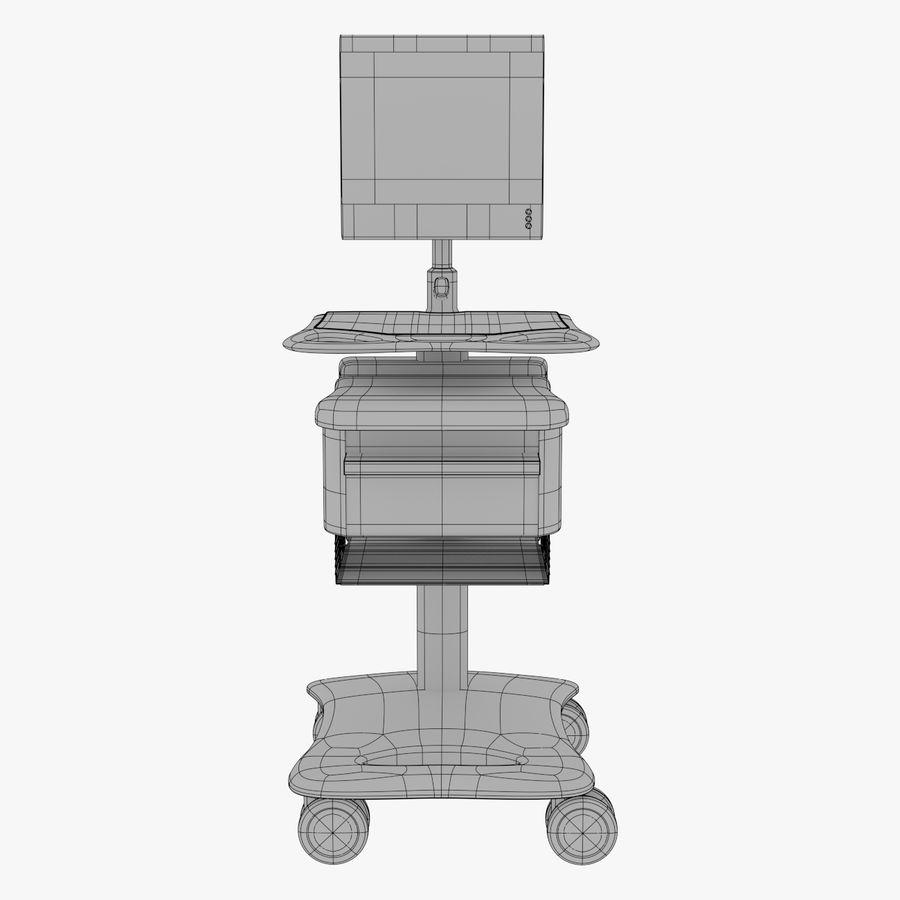 Medizinischer Wagen royalty-free 3d model - Preview no. 5