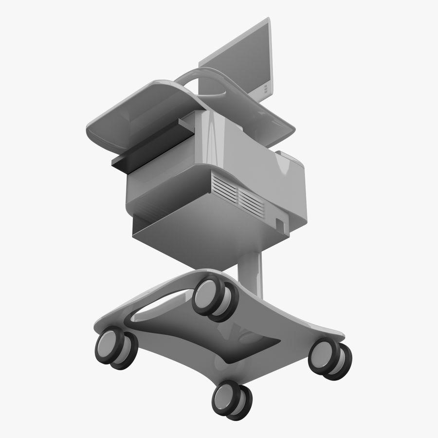 Medizinischer Wagen royalty-free 3d model - Preview no. 3