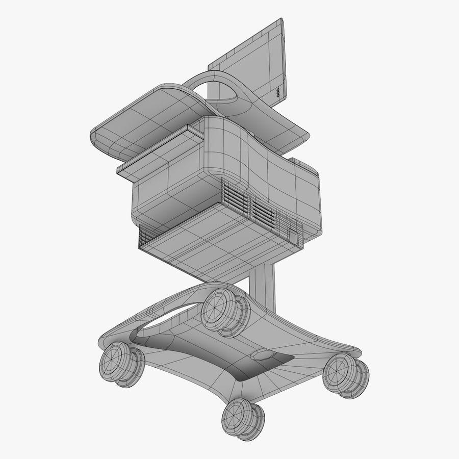 Medizinischer Wagen royalty-free 3d model - Preview no. 6