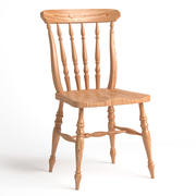 chair wooden 3d model