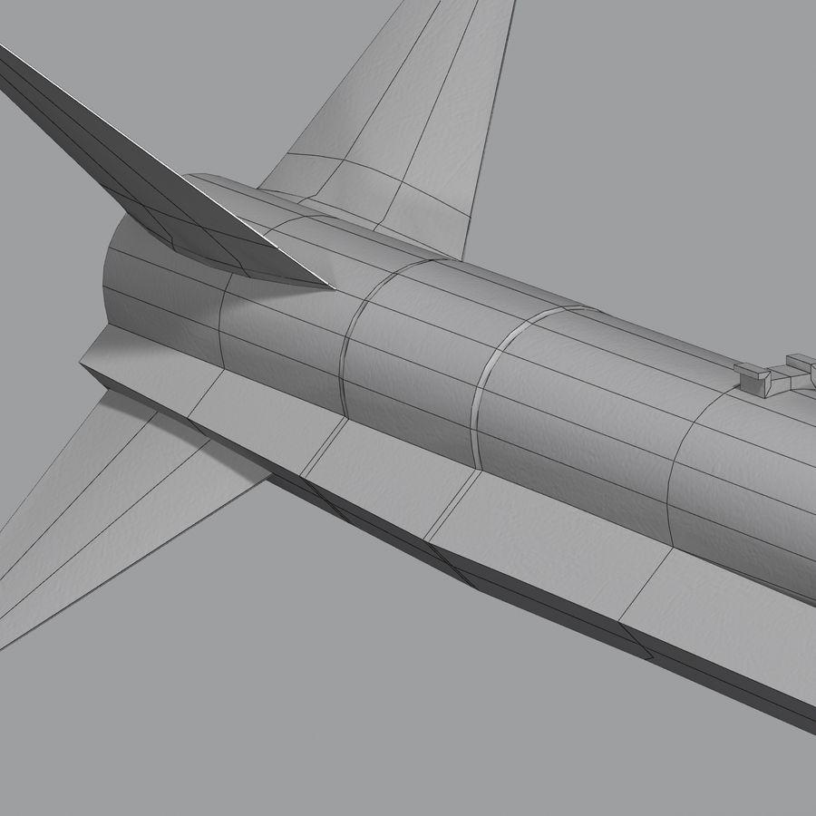 MBDA Meteor royalty-free modelo 3d - Preview no. 14