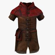 Ortaçağ pelerin 3d model