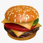 Juicy Hamburger 3d model