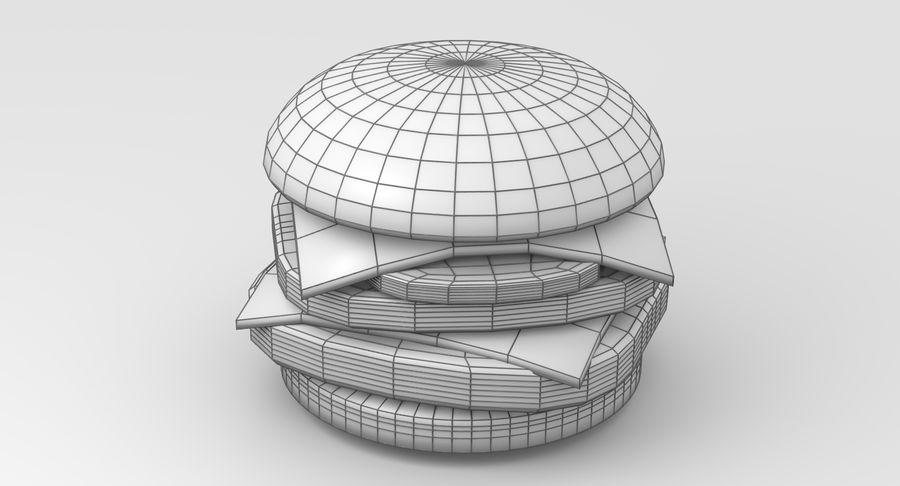 Сочный гамбургер royalty-free 3d model - Preview no. 9
