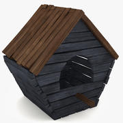 Old Birdhouse 2 3d model