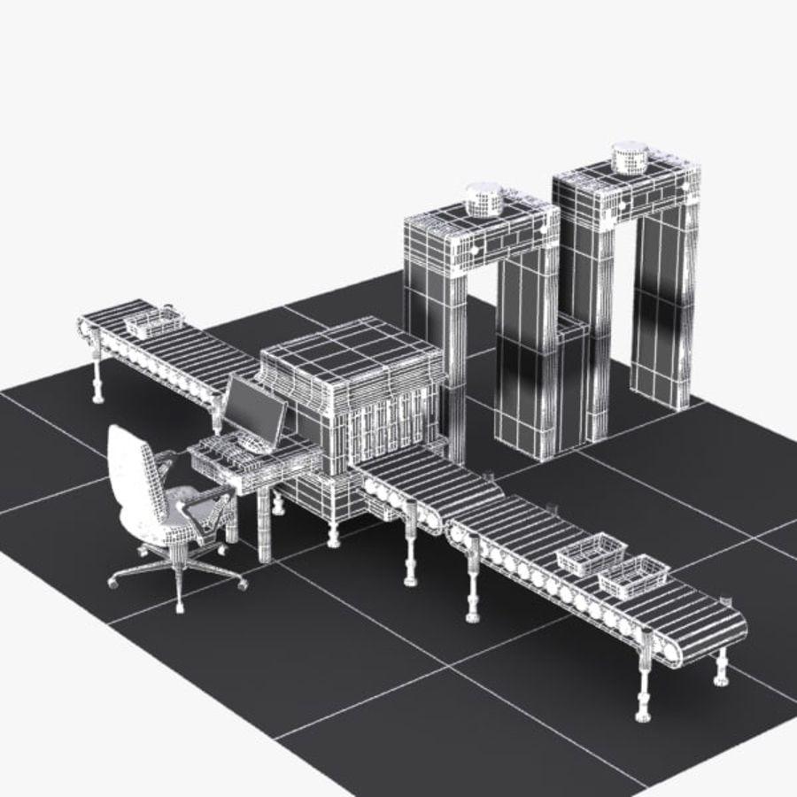 Machine de sécurité de dessin animé royalty-free 3d model - Preview no. 12