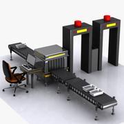Máquina de segurança dos desenhos animados 3d model