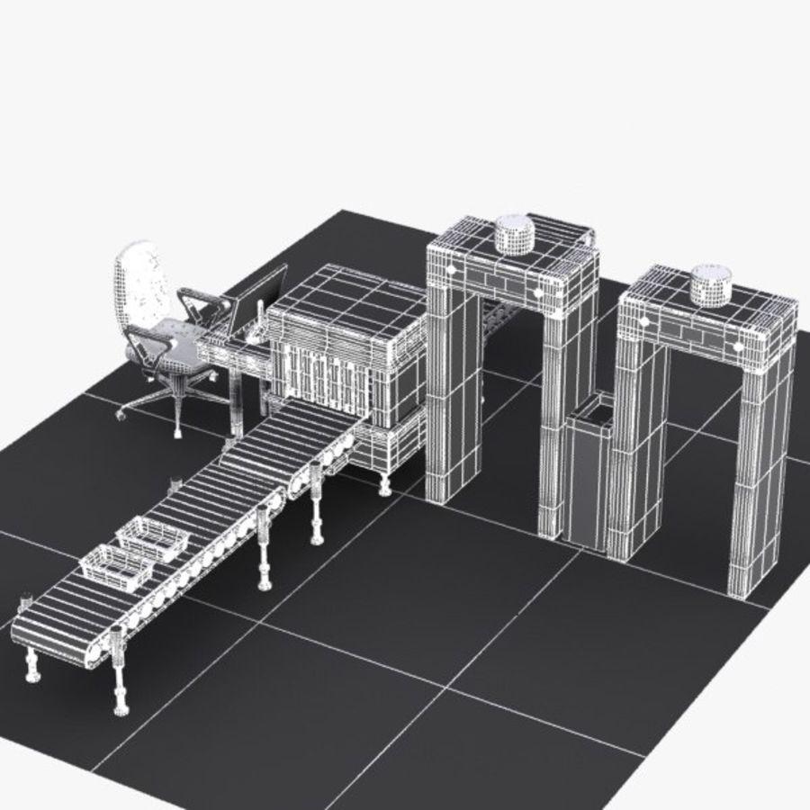 Machine de sécurité de dessin animé royalty-free 3d model - Preview no. 13