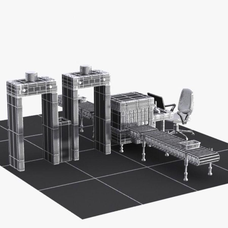 Machine de sécurité de dessin animé royalty-free 3d model - Preview no. 9