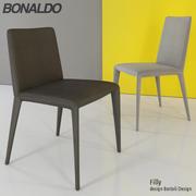 Bonaldo Filly Sandalye 3d model