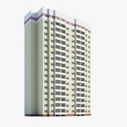 住宅モジュール 3d model