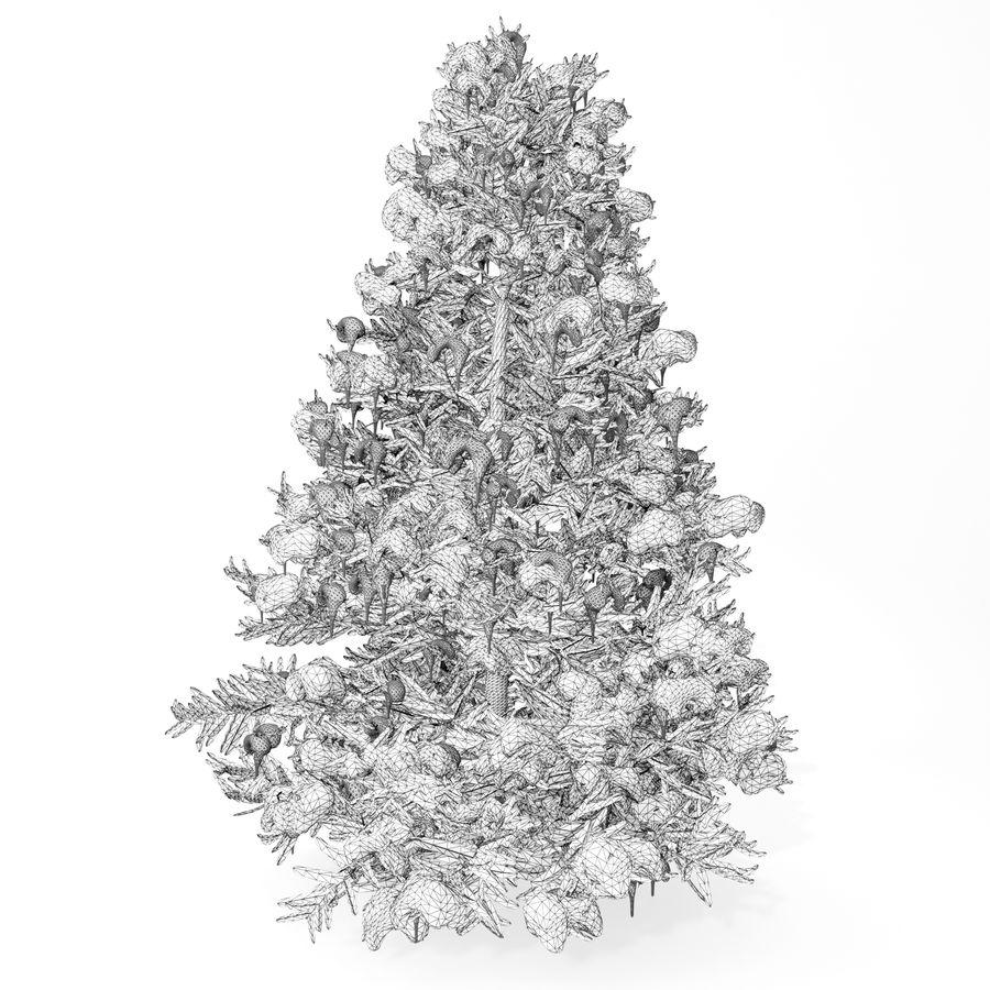 árvore de Natal royalty-free 3d model - Preview no. 2
