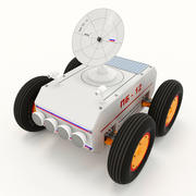 Space rover 3d model