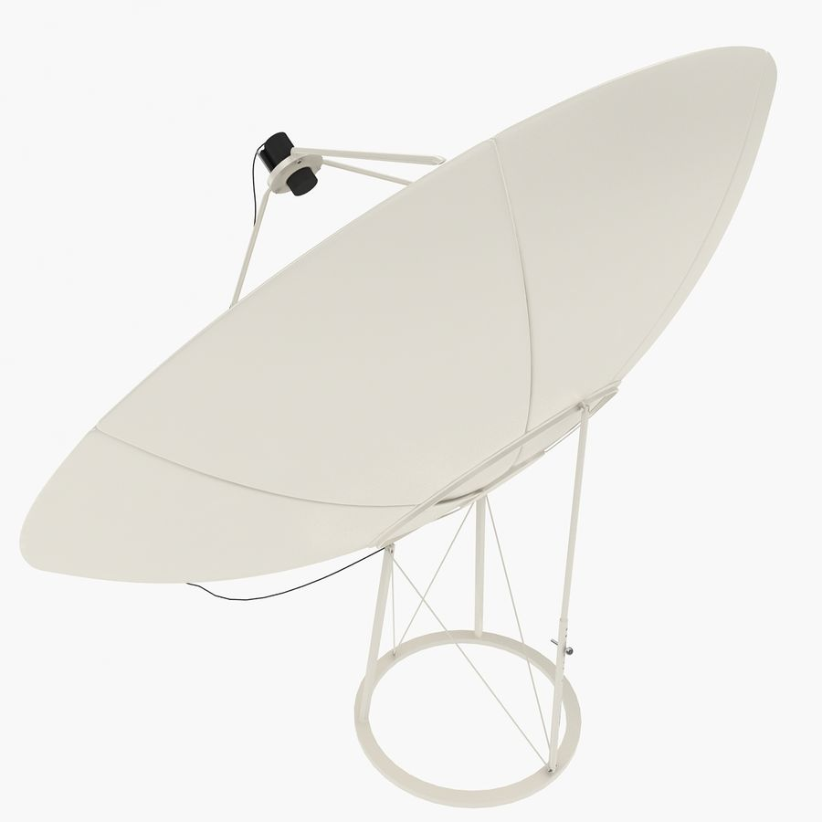 Antena satelital V4 royalty-free modelo 3d - Preview no. 8