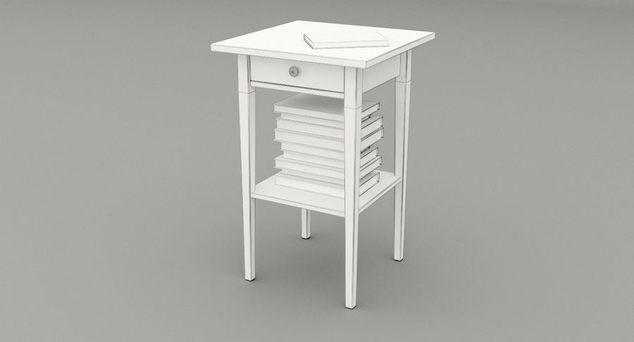 mesa de cabeceira royalty-free 3d model - Preview no. 5