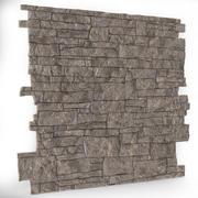 rock wall tileable 3d model