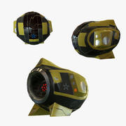 드론 _1 3d model