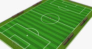 Fussballplatz 3d model
