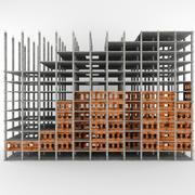 建筑大楼 3d model