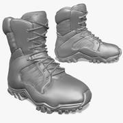 Tactical Boots Zbrush Sculpt 3d model