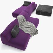 sofá plegable _010 modelo 3d