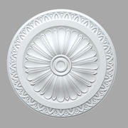 PLASTER Rose ceiling medallion 3d model
