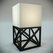 ランプコンテンポラリーCaillebotis MM Luz 3d model