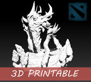 Demônio de sombra imprimível em 3D 3d model