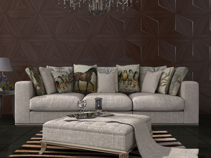Interior Scene royalty-free 3d model - Preview no. 3
