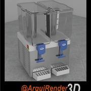 ジュースディスペンサー 3d model