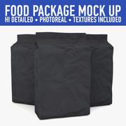 Package mock up 3d model