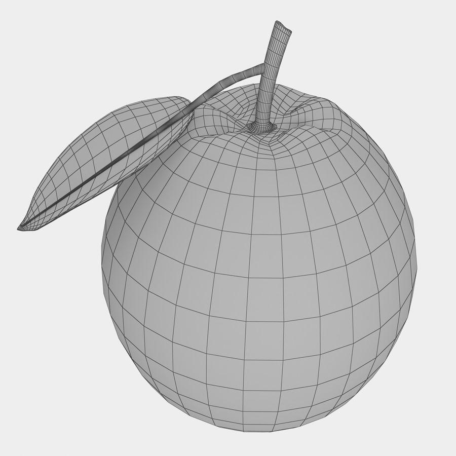 orange frukt royalty-free 3d model - Preview no. 11