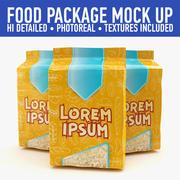 Package mock up (2) 3d model