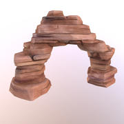 Red Rock Arch 3d model