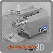 Kıyma makinesi 3d model