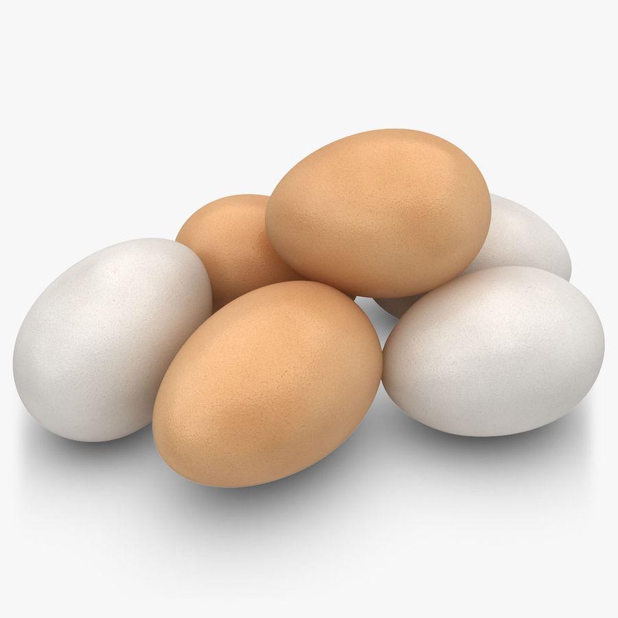 Des œufs royalty-free 3d model - Preview no. 1