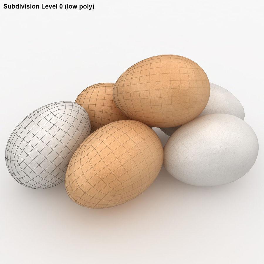Des œufs royalty-free 3d model - Preview no. 16