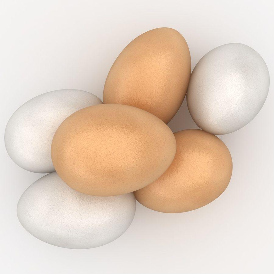 Des œufs royalty-free 3d model - Preview no. 9