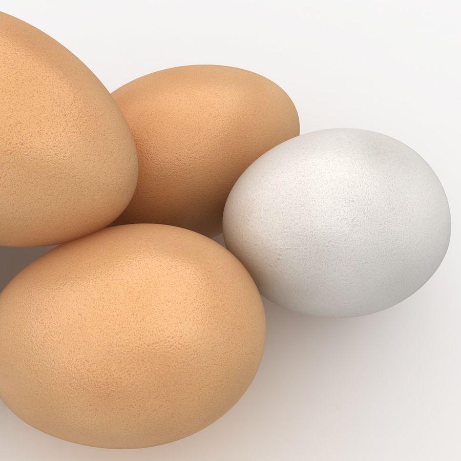 Des œufs royalty-free 3d model - Preview no. 6