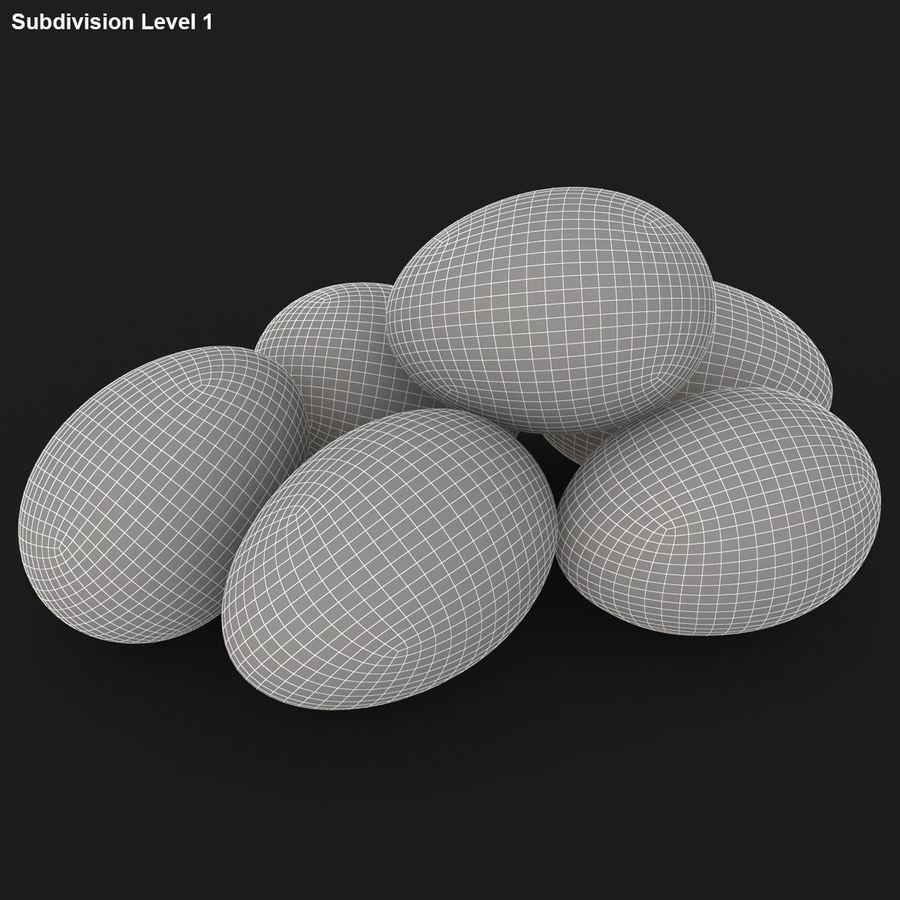 Des œufs royalty-free 3d model - Preview no. 18