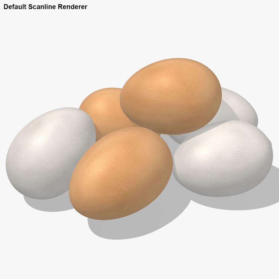 Des œufs royalty-free 3d model - Preview no. 20