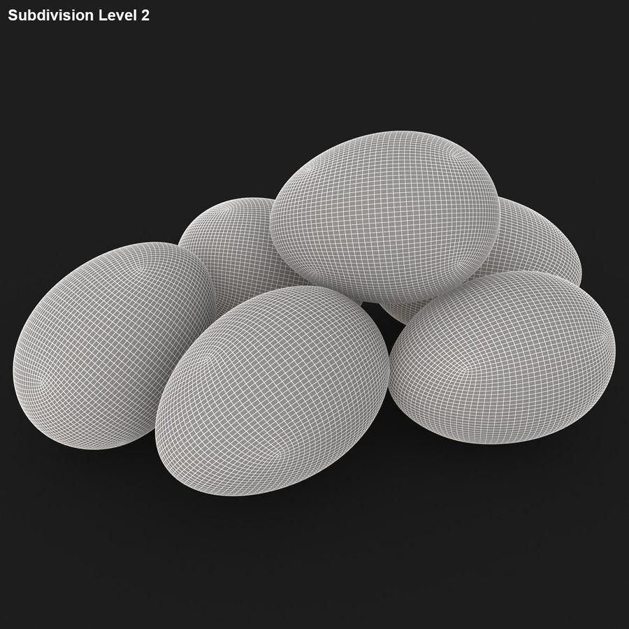 Des œufs royalty-free 3d model - Preview no. 19