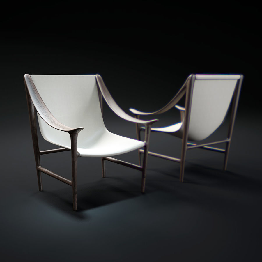SWING-chair royalty-free 3d model - Preview no. 1