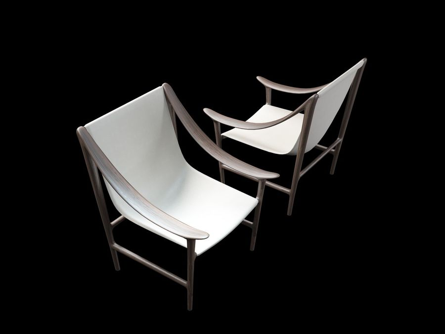 SWING-chair royalty-free 3d model - Preview no. 9