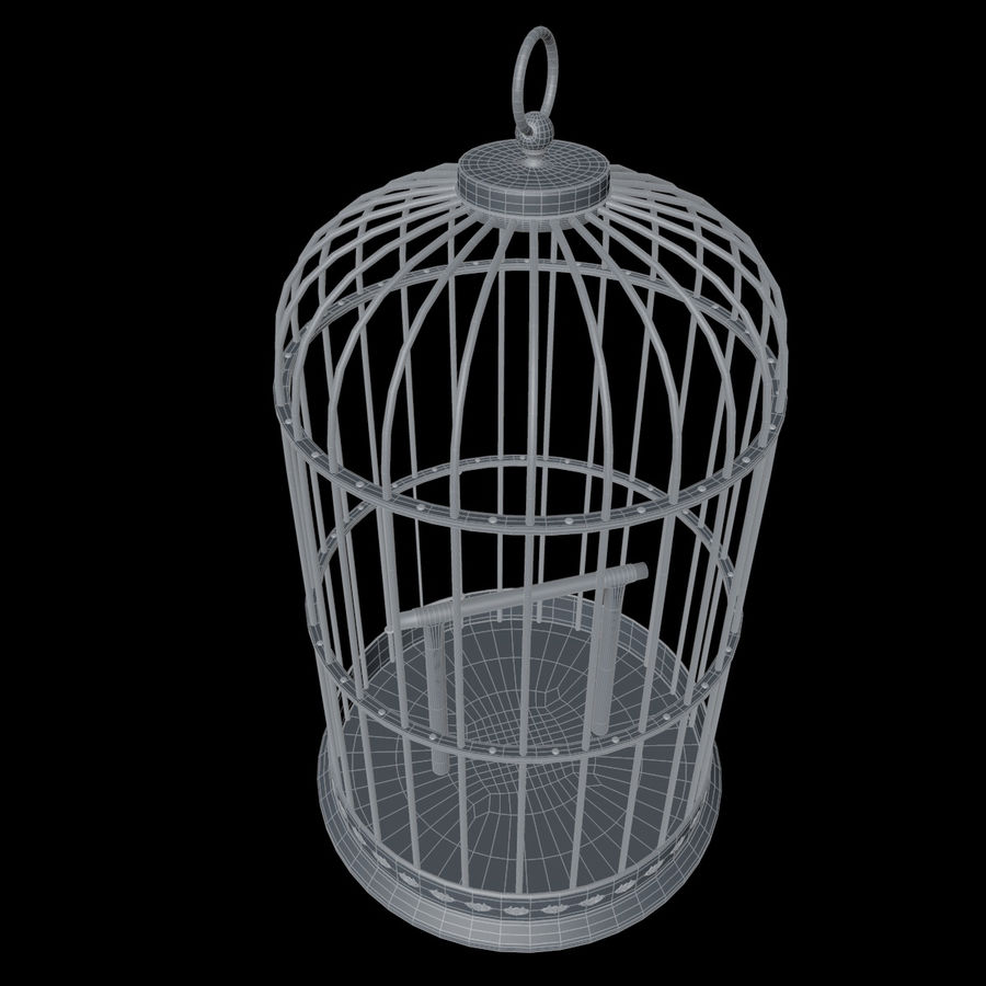 Vogelkooi royalty-free 3d model - Preview no. 19